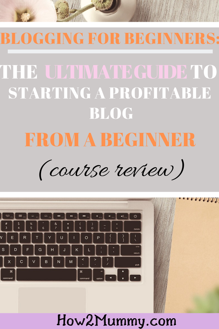 #review about Motivation For Mom's course - Blogging for Beginners: the ultimate guide to starting a profitable blog. This course helped a lot to me in understanding the early stages of #blogging and #seo