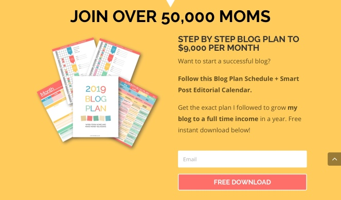 Join the blog plan