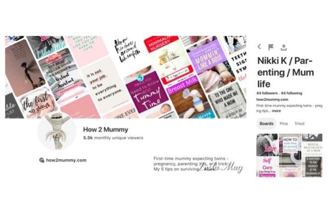 My Pinterest statistics