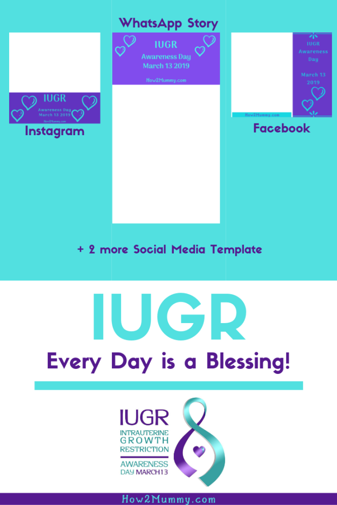 "Have you ever heard about IUGR? A baby born significantly smaller than other, ""normal"" developing babies? In this post, you can read how my storywith IUGR started. I won't lie, it ain't pretty. It's heartbreaking, and it's just the beginning. Please read and share, and as a thank you, you can download my 5 free social media templates for IUGR Awareness day I've created for you! #iugr #twins #mcda #iugrawareness #freebies #freetemplates #freesocialmediatemplates #mystory #pregnancy #myiugrstory #mytwinstory"